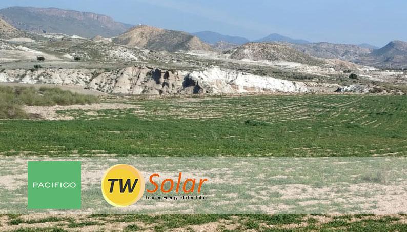 Acuerdo con Pacífico Energy Partner para el desarrollo de una planta fotovoltaica en Almería